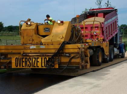 Municipal Road Paving
